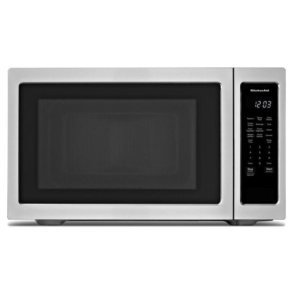 KitchenAid 2.20 cu. ft. Countertop Microwave in Stainless Steel