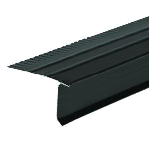 Amerimax Home Products F5M 2 33 in  x 1 5 in  x 10 ft  Aluminum Black Drip  Edge Flashing-5564535120 - The Home Depot