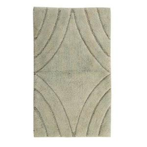 Castle Hill London Light Sage 40 In X 24 In Bath Rug