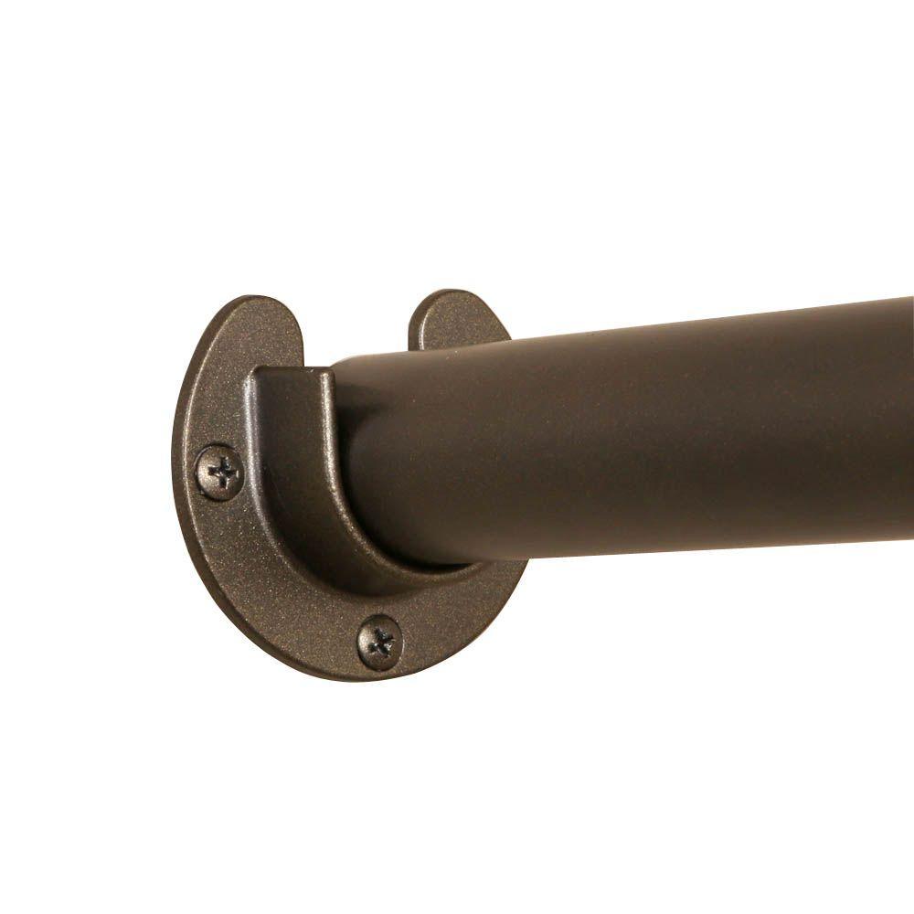 Bon Closet Pro 1 5/16 In. Heavy Duty Bronze Closet Pole Sockets