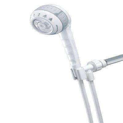 Original Shower Massage 6-Spray Hand Shower in White