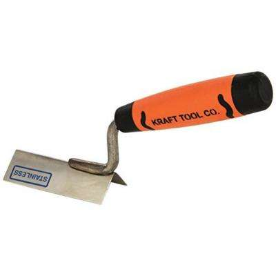3-1/8 in. x 1 in. Stainless Steel Outside Corner Trowel with Proform Handle