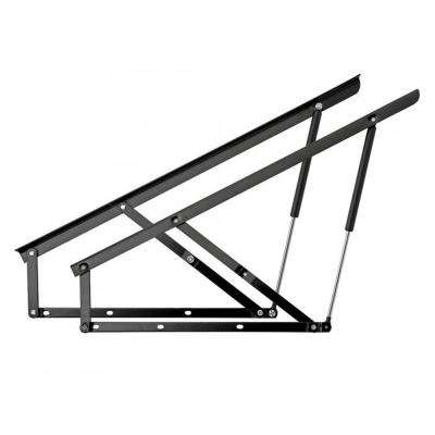 Gas Spring-Assisted 209 lbs. Storage Double Bed Foot End Lift Mechanism
