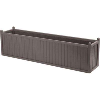 69 in. x 16 in. Mist All Weather Composite Planter