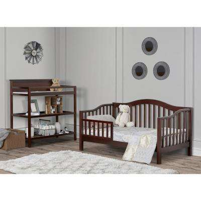 Austin Espresso Toddler Adjustable Day Bed