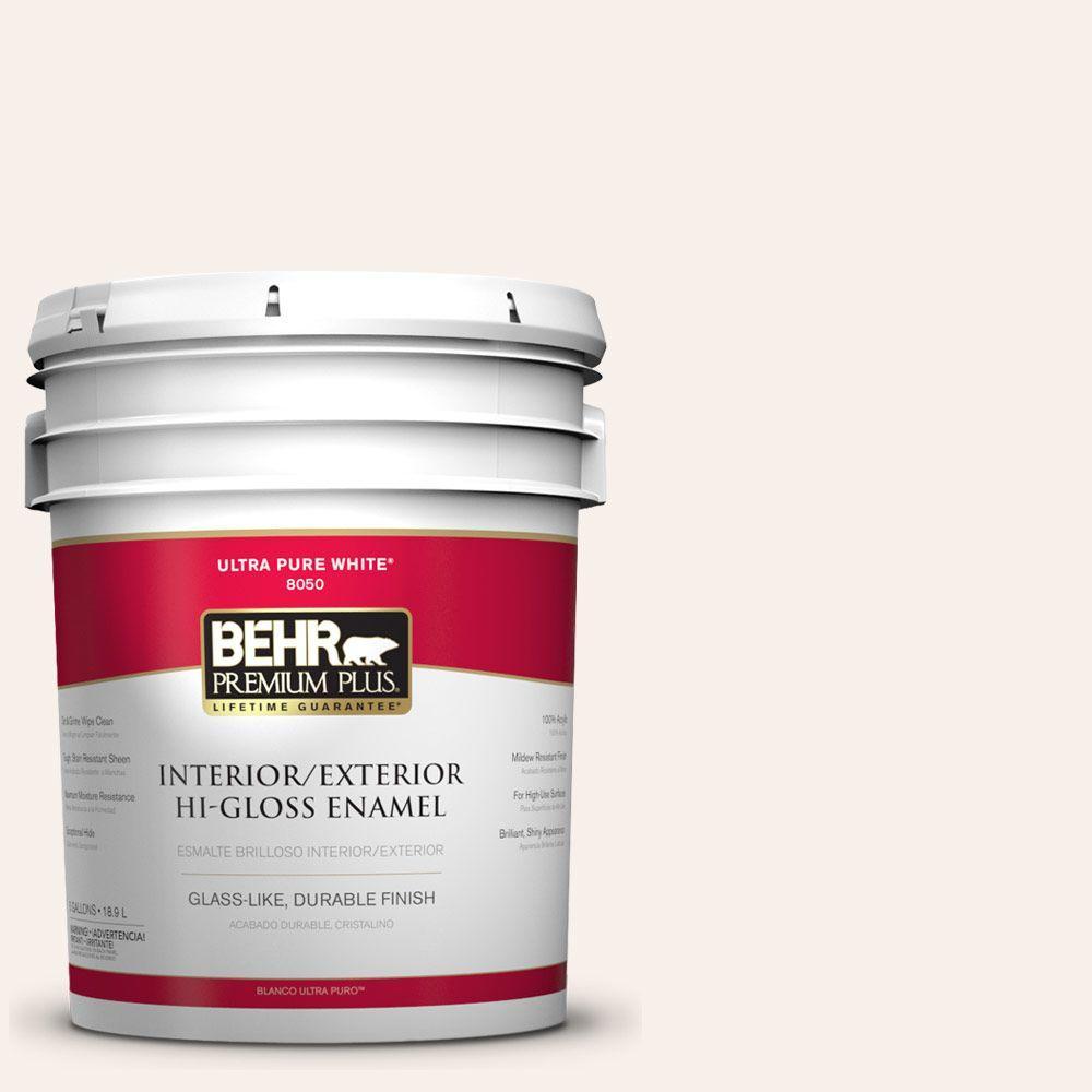 BEHR Premium Plus 5-gal. #PWN-35 Devonshire Hi-Gloss Enamel Interior/Exterior Paint