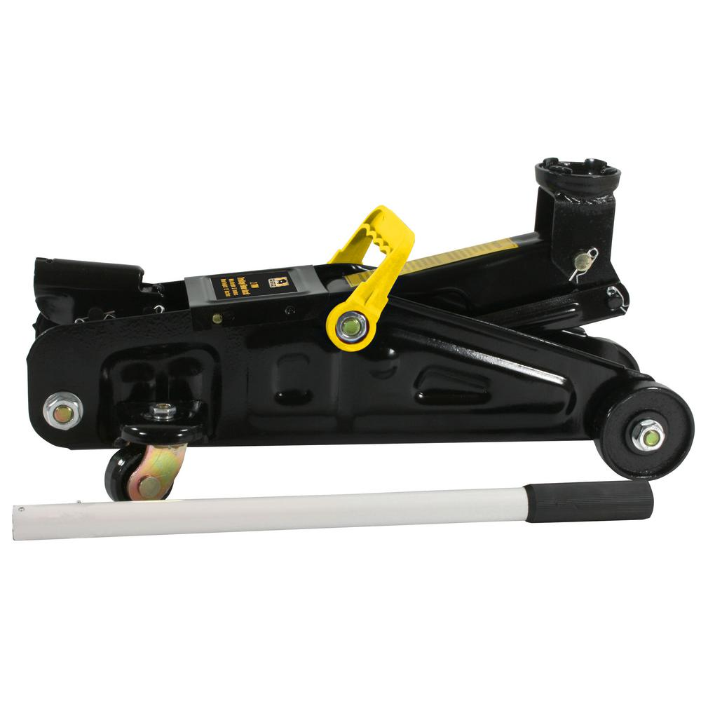 BLACK BULL 2-Ton Trolley Floor Jack