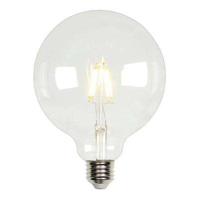 40W Equivalent Soft White G40 Dimmable Filament LED Light Bulb