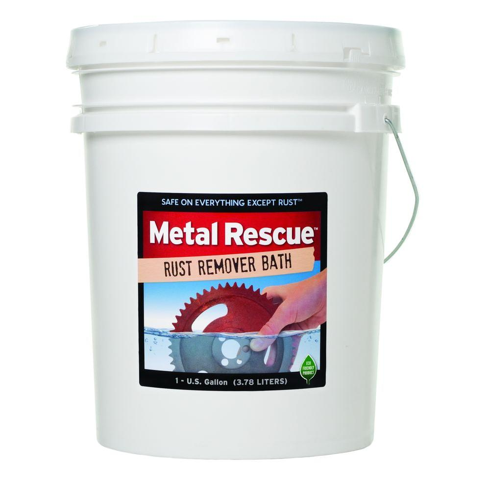 workshop hero 5 gal metal rescue rust remover the home depot