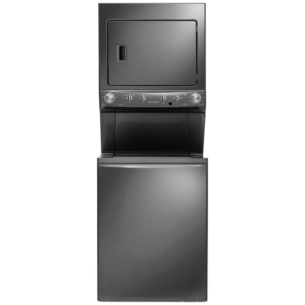 Frigidaire High-Efficiency 3.8 cu. ft. Top Load Washer an...