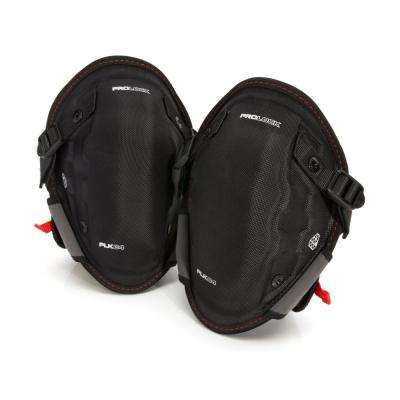 Professional Black Gel Abrasion Resistant Safety Knee Pads