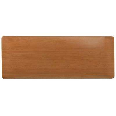 Comfort Style Woodgrain Oak 18 in. x 72 in. Floor Mat
