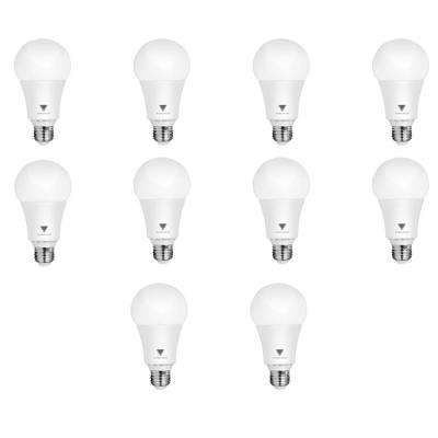 100-Watt Equivalent A21 Dimmable 1,600-Lumens LED Light Bulb Daylight (10-Pack)