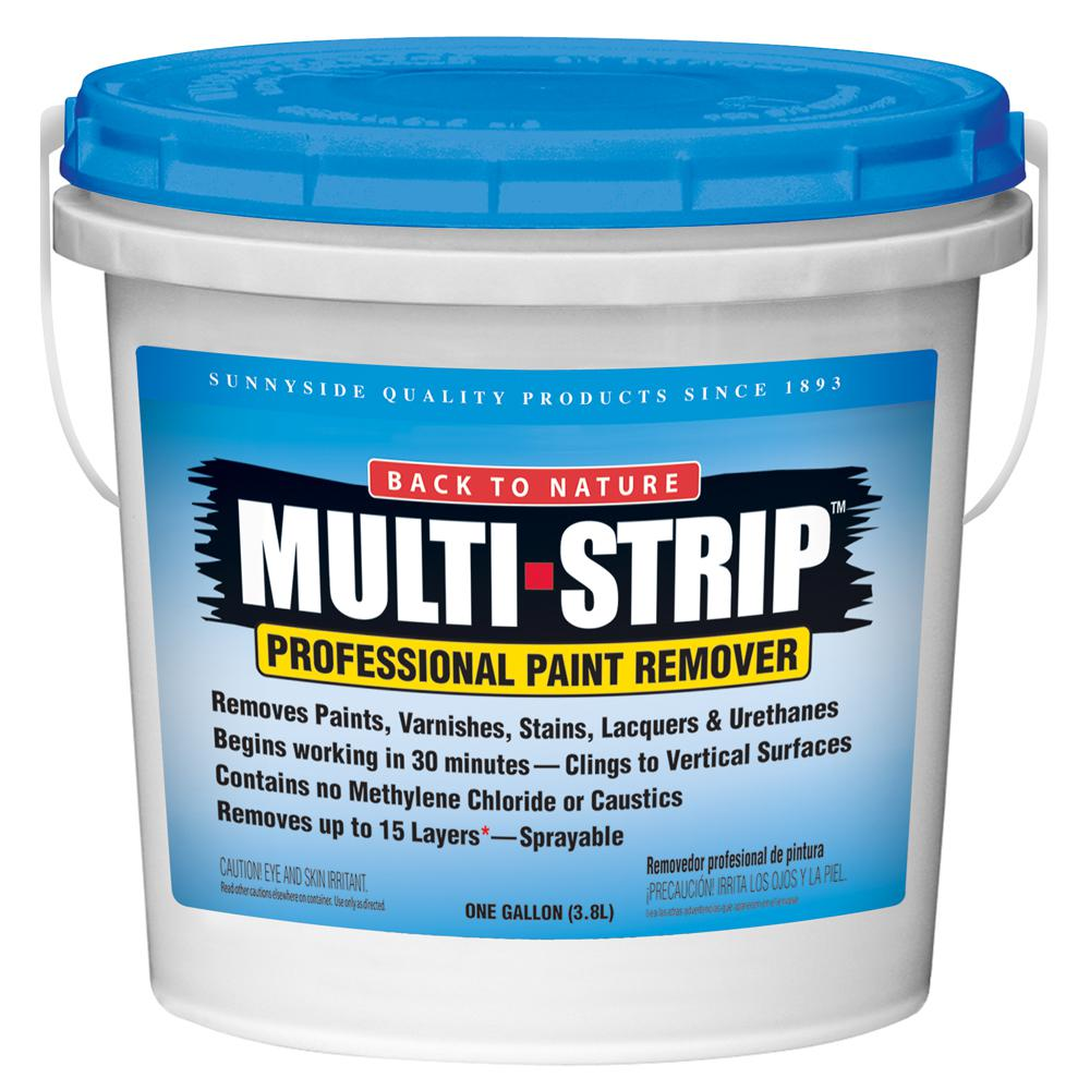 MULTI-STRIP 1 Gal. Multiple Layer Paint and Varnish Remover
