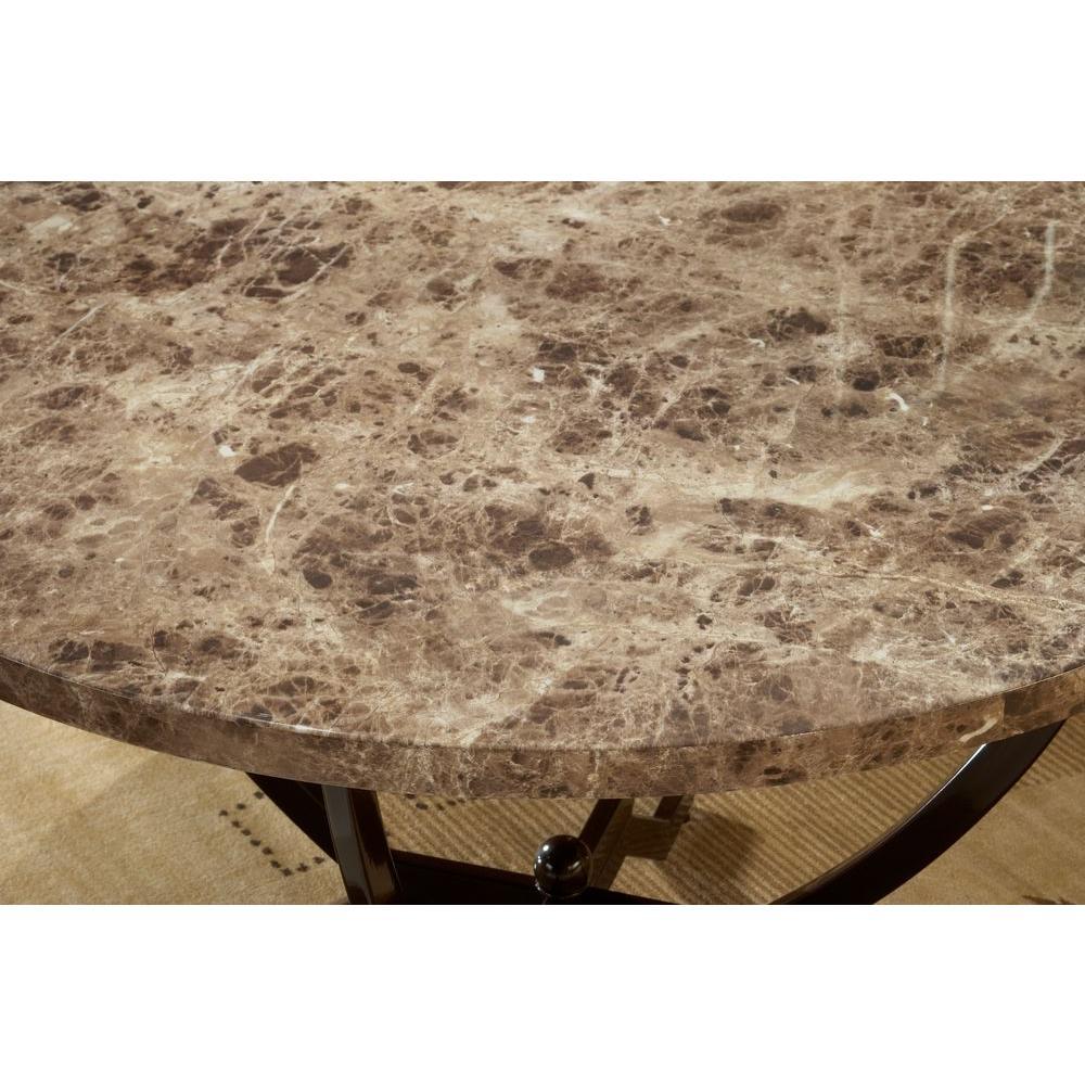 Hillsdale Furniture Monaco Matte Espresso 3-Piece Nesting End Table