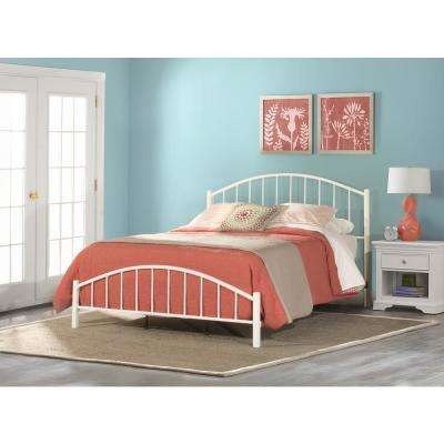 cottage white - White Queen Bed Frame