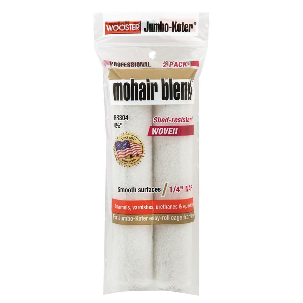 6-1/2 in. Jumbo-Koter Mohair Roller (2-Pack)