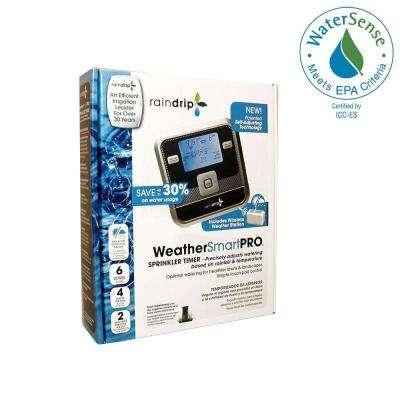 WeatherSmartPro 6-Station Electronic Water Timer