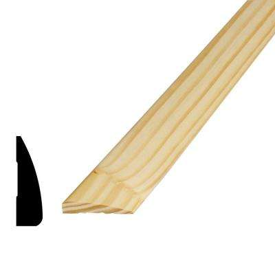 WM 327 11/16 in. x 2-1/4 in. x 84 in. Pine Finger-Jointed Casing