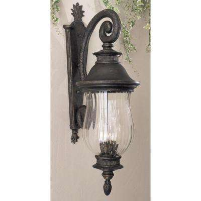 Newport 4-Light Heritage Outdoor Wall Lantern Sconce