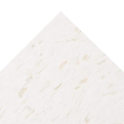 Imperial Texture VCT 12 in. x 12 in. x 3/32 in. Cool White Standard Excelon Commercial Vinyl Tile (45 sq. ft. / case)