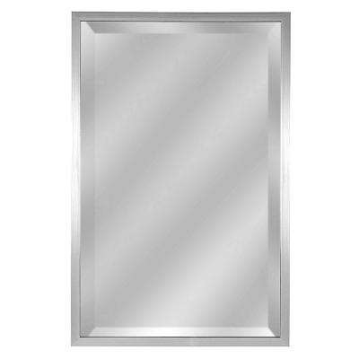 Beacon Hill Beveled Pewter Mirror