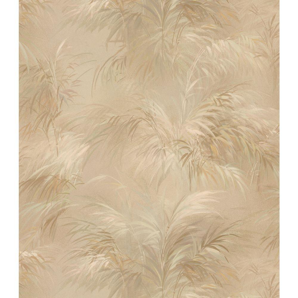 Brewster Leaf Wallpaper