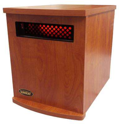 Original USA1500 5-Year Warranty Infrared Heater, Cherry