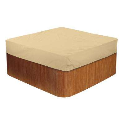 Terrazzo Large Square Hot Tub Cover Cap