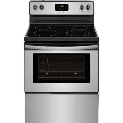 4.9 cu. ft. Electric Range in Stainless Steel