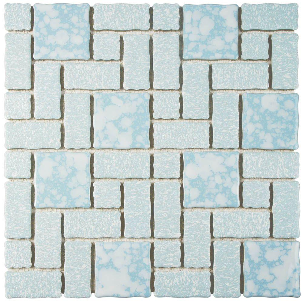 Academy Blue 11-3/4 in. x 11-3/4 in. x 5 mm Porcelain