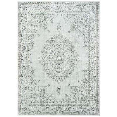 United Weavers Royalton Stirling Silver 9 ft. x 12 ft. Area Rug