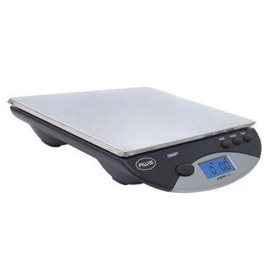 Digital Postal Kitchen Scale in Black
