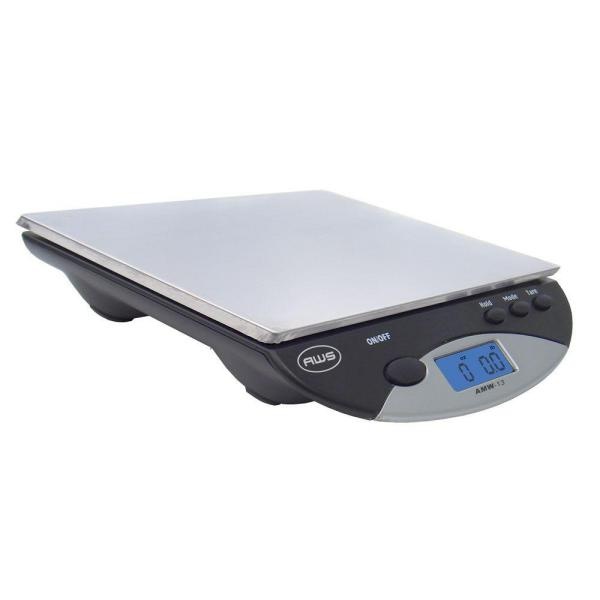 American Weigh Digital Postal Kitchen Scale in Black AMW13BK