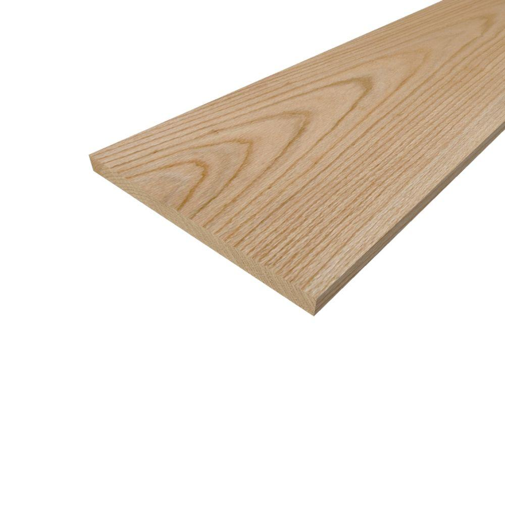 Sure Wood Forest Products 1 In X 12 In X 10 Ft S4s Red