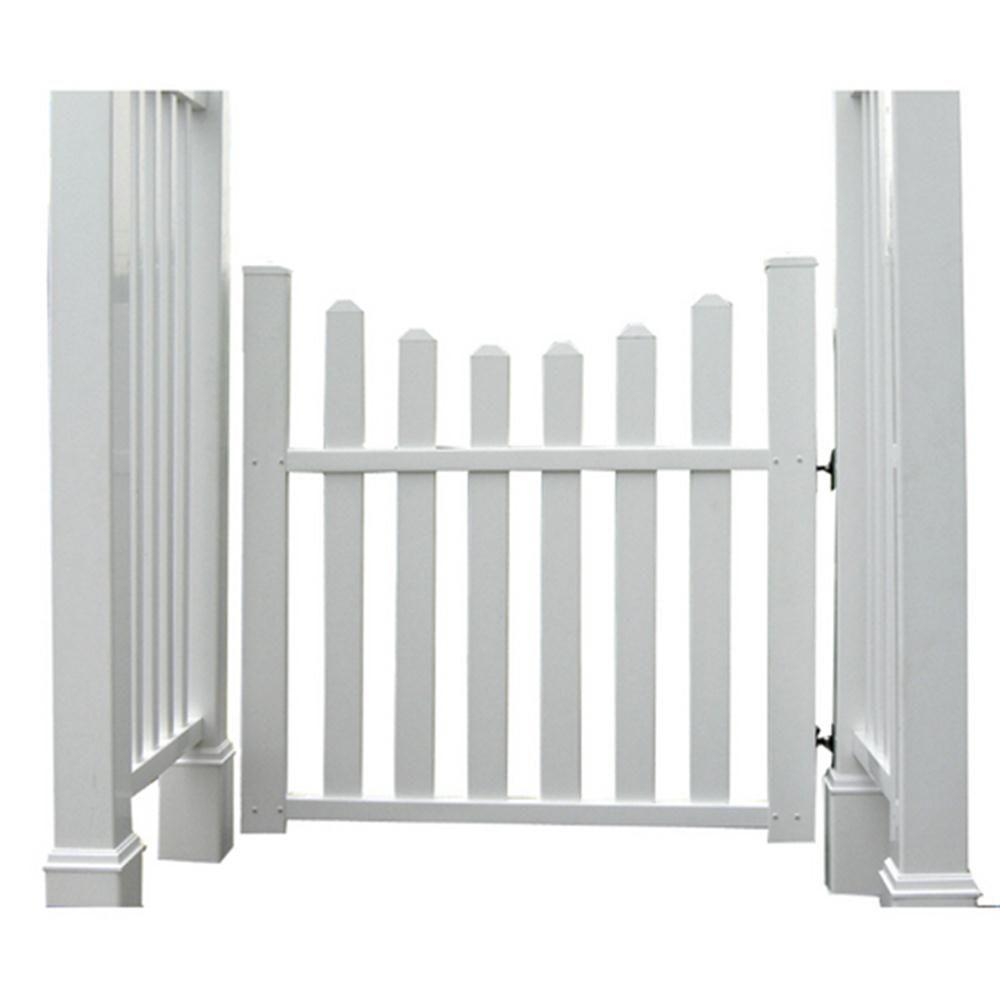 New England Arbors 3.5 ft. W x 3.6 ft. H H Traditional Gate