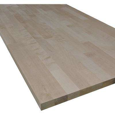 1 in. x 25 in. x 33 in. Allwood Birch Project Panel, Table Top