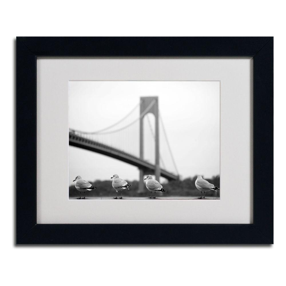 null 11 in. x 14 in. Verrazano Matted Framed Art