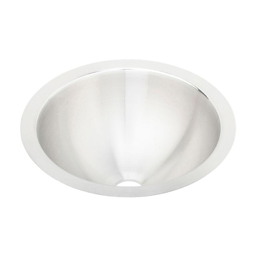 Elkay Lustertone Undermount 14 in. Bar Sink in Satin