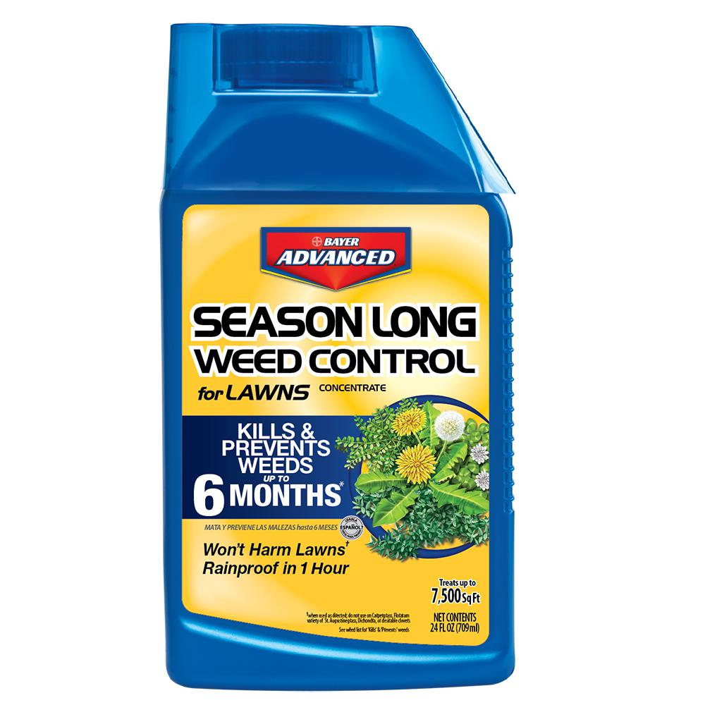 Bayer Advanced 24 oz. Concentrate Season Long Weed Control for Lawns