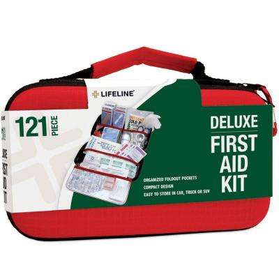 121-Piece Compact Emergency First Aid Kit