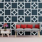 3/8 in. x 41-1/2 in. x 23-3/4 in. Large Arcadia White Architectural Grade PVC Decorative Wall Panels