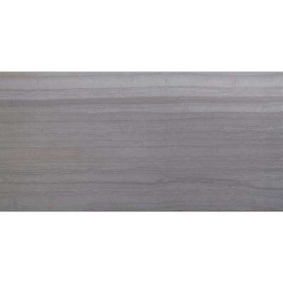 Sophie Gray 12 in. x 24 in. Glazed Porcelain Floor and Wall Tile (12 sq. ft. / case)