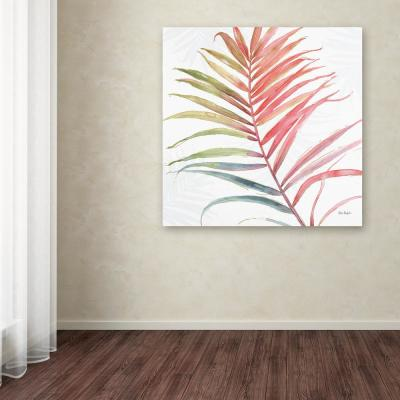 """18 in. x 18 in. """"Tropical Blush VI"""" by Lisa Audit Printed Canvas Wall Art"""