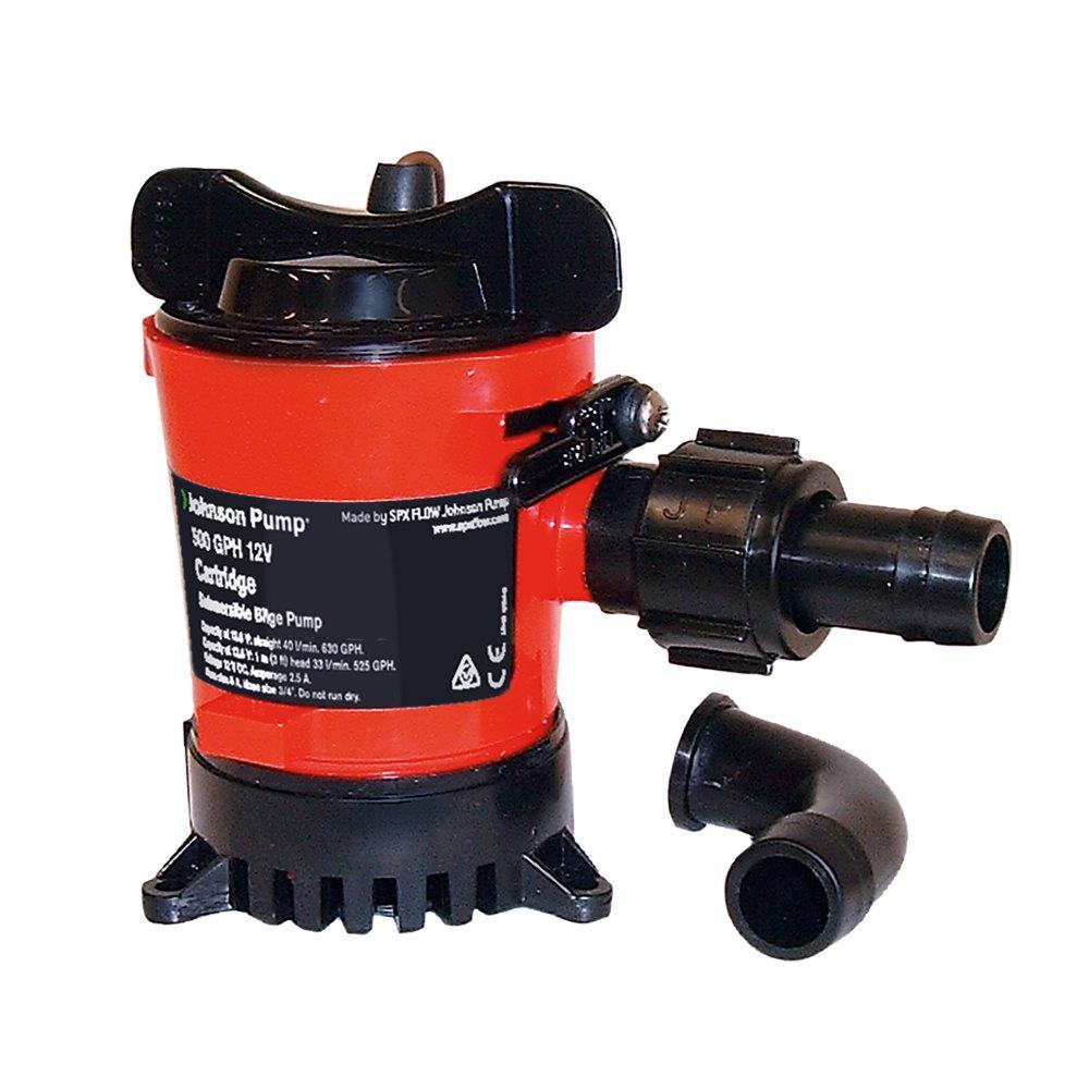 Johnson Pump 500 GPH Cartridge Bilge Pump with Dura-Port