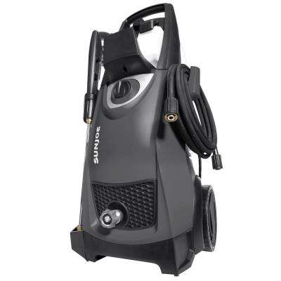 Pressure Joe 2,030 PSI 1.76 GPM 14.5 Amp Electric Pressure Washer in Black