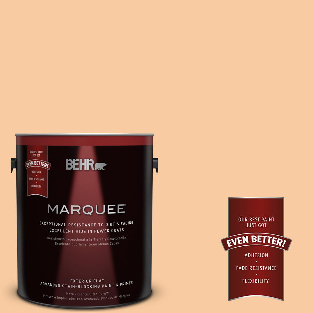 BEHR MARQUEE 1-gal. #290C-3 Chai Latte Flat Exterior Paint