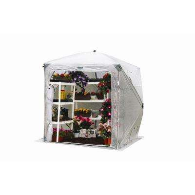 OrchidHouse 7 ft. x 7 ft. Pop-Up Greenhouse