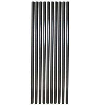 Baluster-Black Round Aluminum (10-Pack) (Common: 30 in.; Actual: 30 in.)