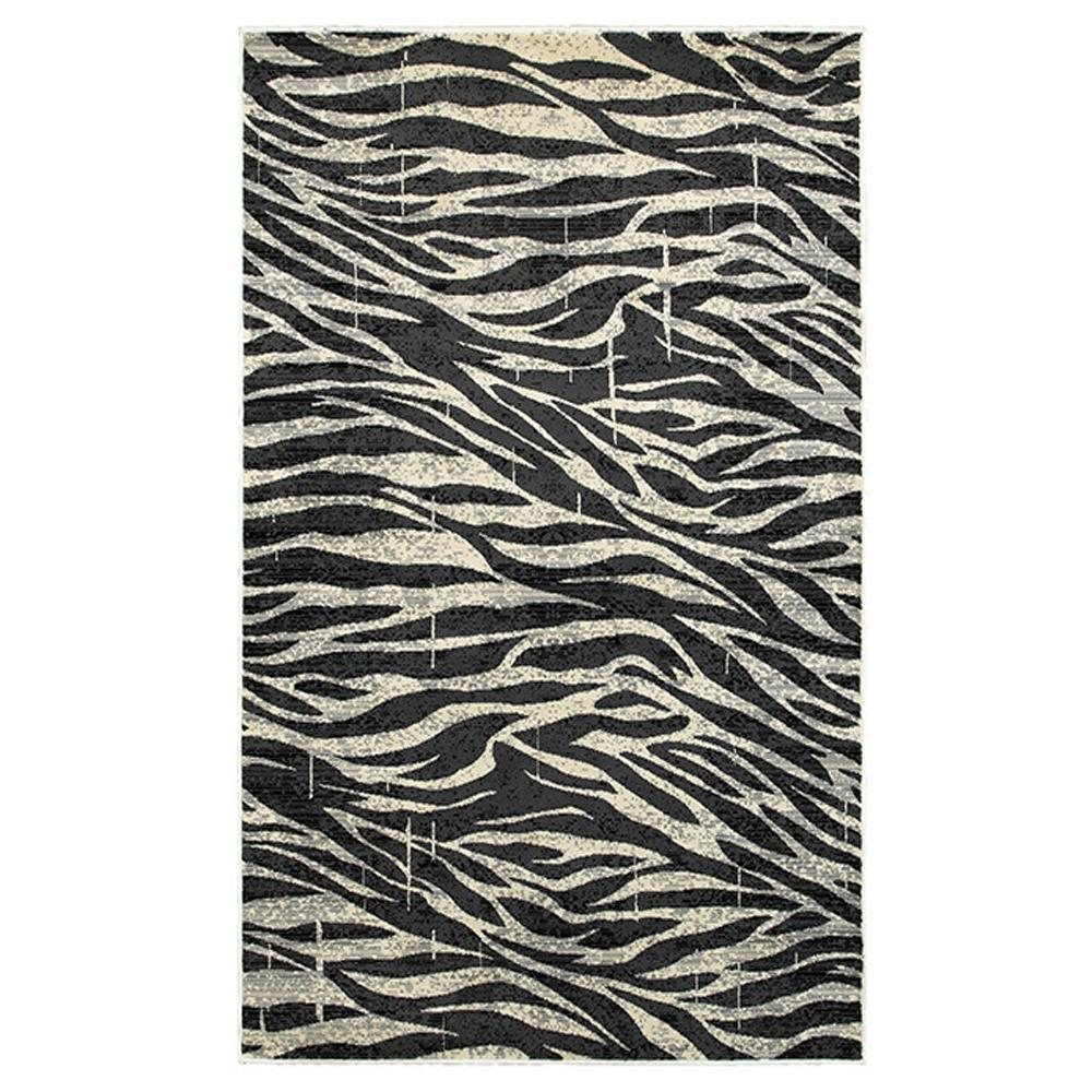 Adana White/Anthracite 1 ft. 10 in. x 3 ft. 1 in.